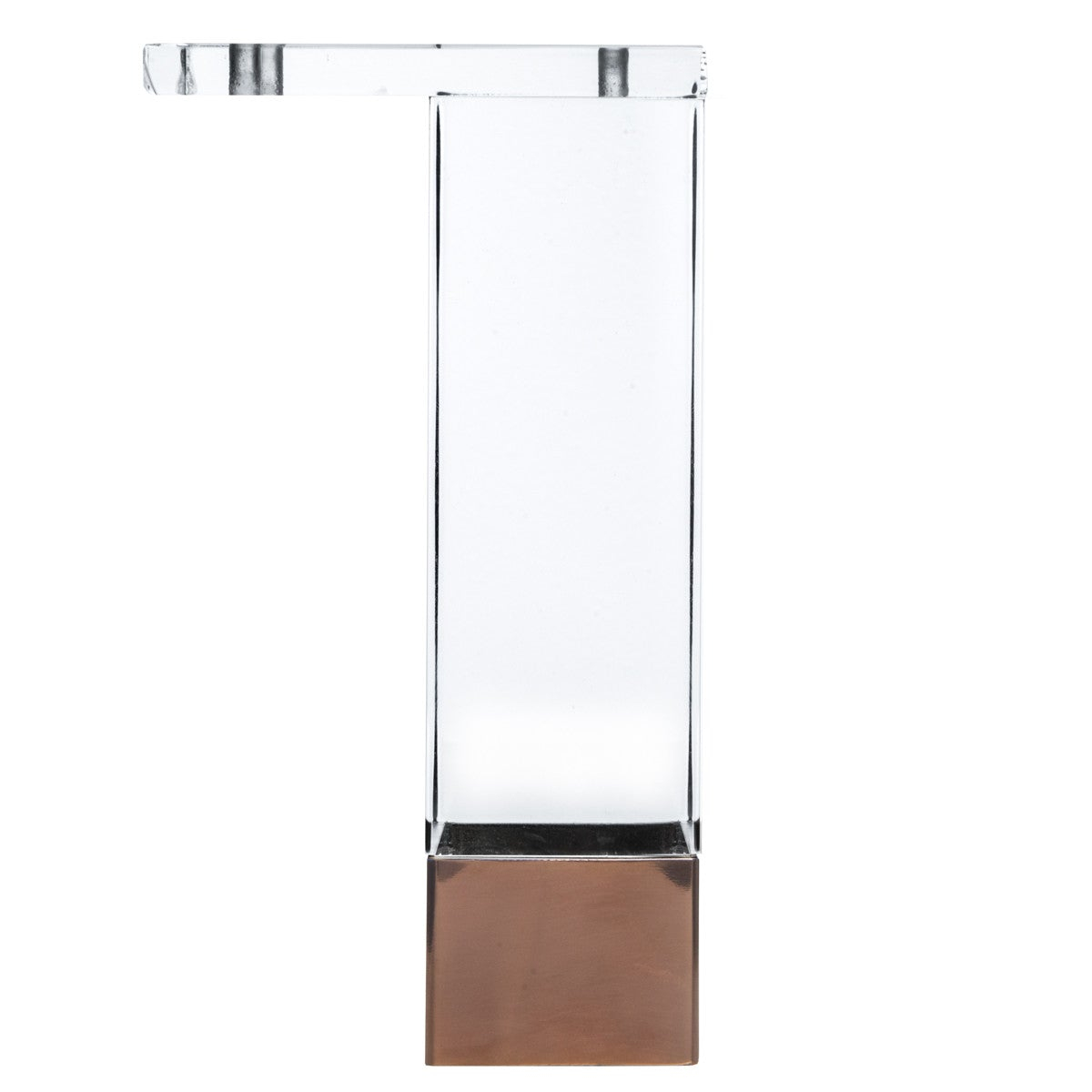 "7"" Straight Lucite and Metal Leg (Set of 4) - ModShop1.com"