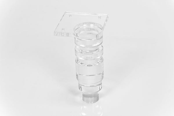 "7"" Concord Lucite Leg (Set of 4)"