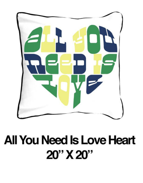 All You Need is Love Heart Green - ModShop1.com
