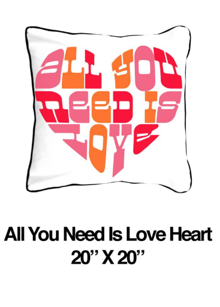 All You Need Is Love Heart Pink - ModShop1.com