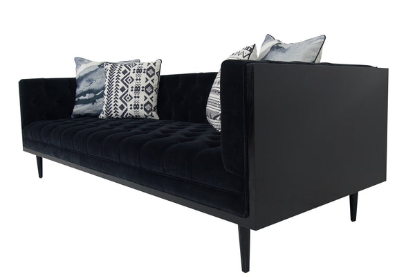 Koenig Sofa in All Black