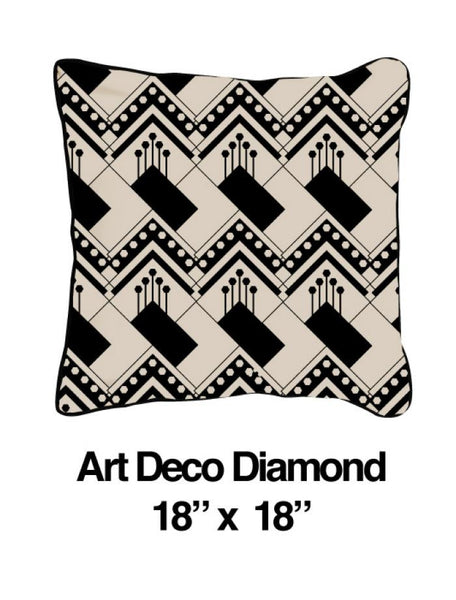 Art Deco Diamond Oatmeal - ModShop1.com