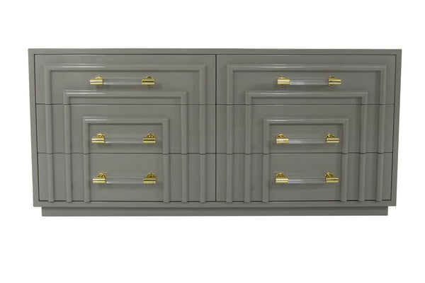 Art Deco Dresser in Greystone