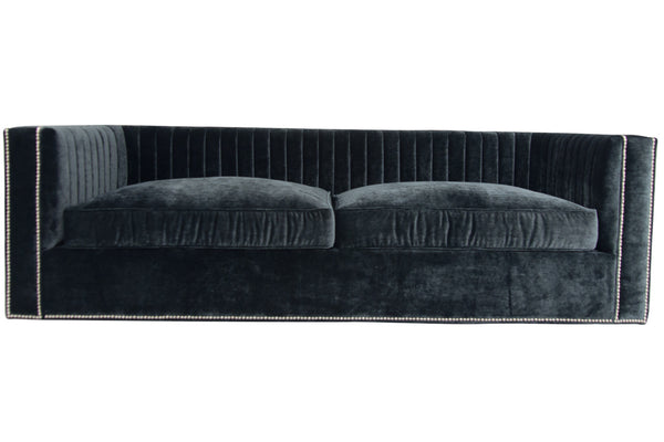 Buenos Aires Sofa in Charcoal Velvet