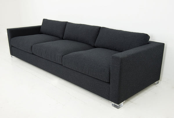 Shoreclub Sofa in Charcoal Linen