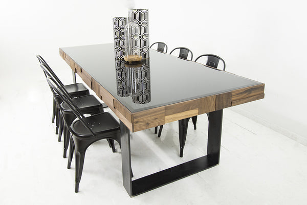 Modern Dining Tables modern dining tables, slab dining tables online - modshop