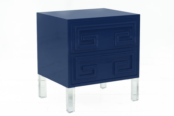 Athenian Side Table in High Gloss Lacquer