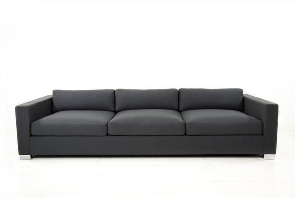 Shoreclub Sofa in Zuma Charcoal - ModShop1.com