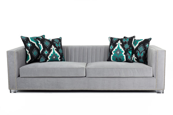Acapulco Sofa in Cannes Cannon Grey