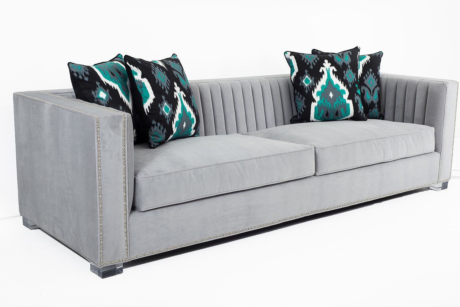 Acapulco Sofa In Cannes Cannon Grey Modshop