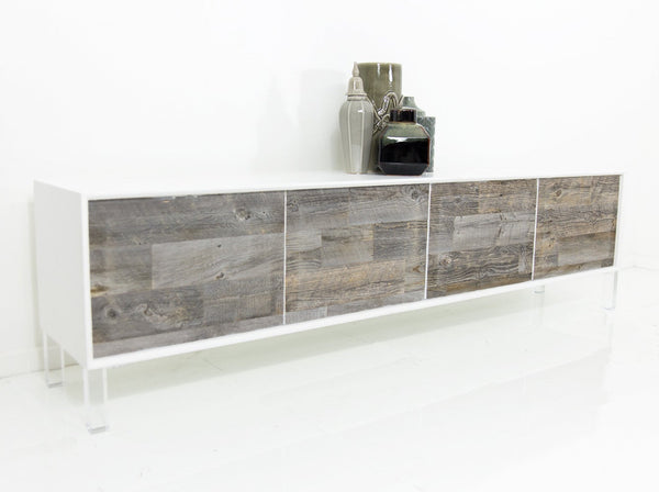 Cody 4 Door Credenza with Recycled Wood