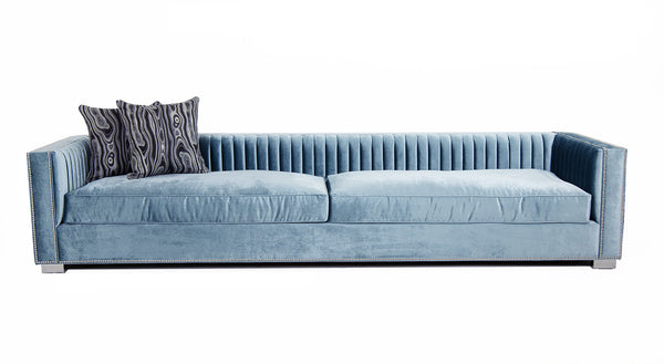 Acapulco Sofa in Trend Denim Velvet