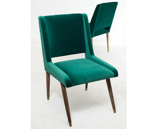 Mid Century Dining Chair in Regal Laguna