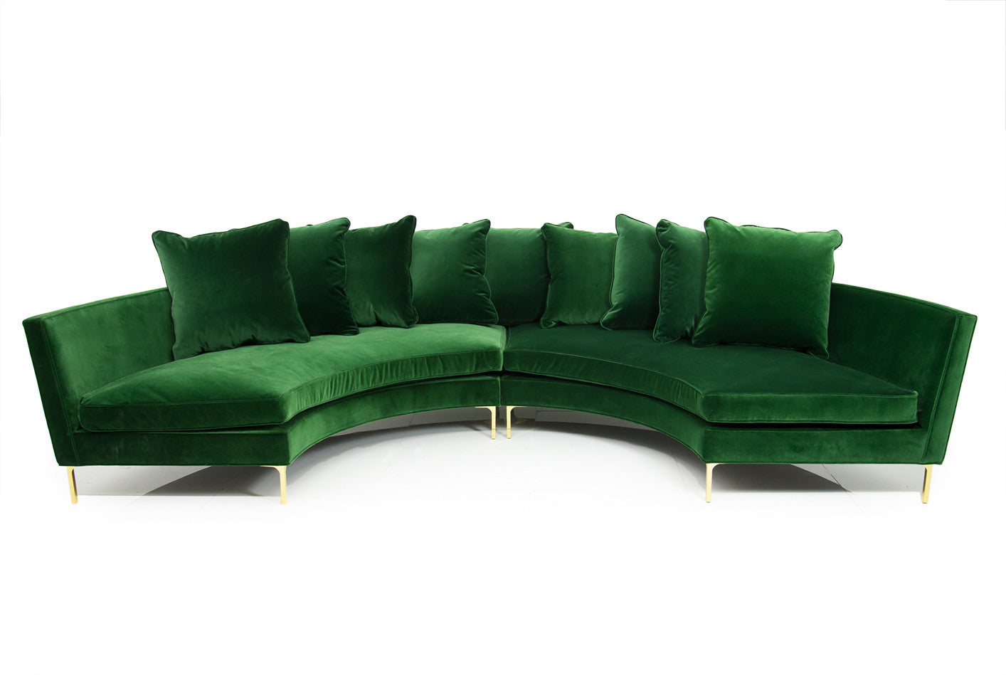 couch dark sofa sage lime exotic leather sectional green