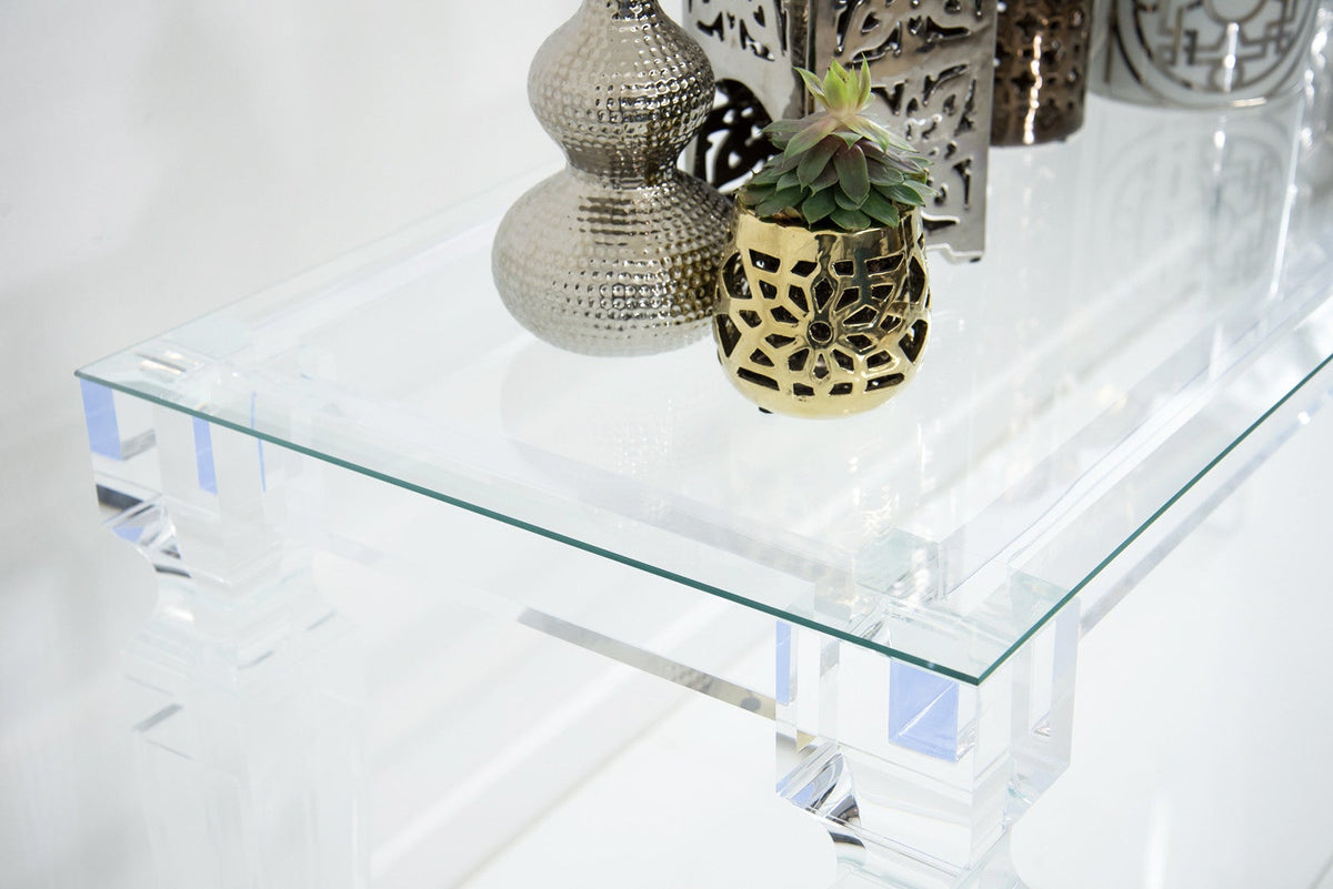 Lucite Console Table - ModShop1.com