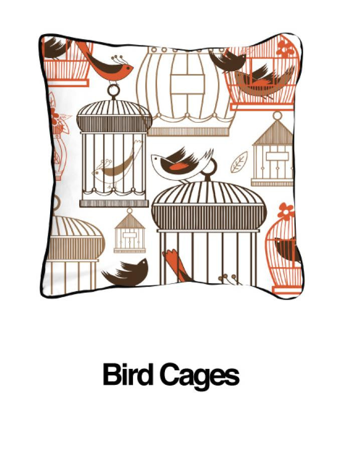 Bird Cages Orange - ModShop1.com