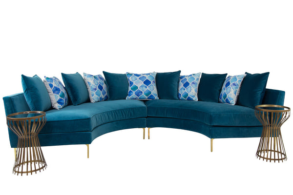 Styled Sardinia Sectional