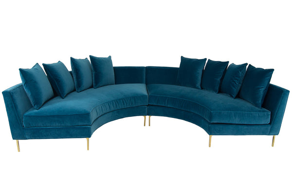 front view of sardinia sectional