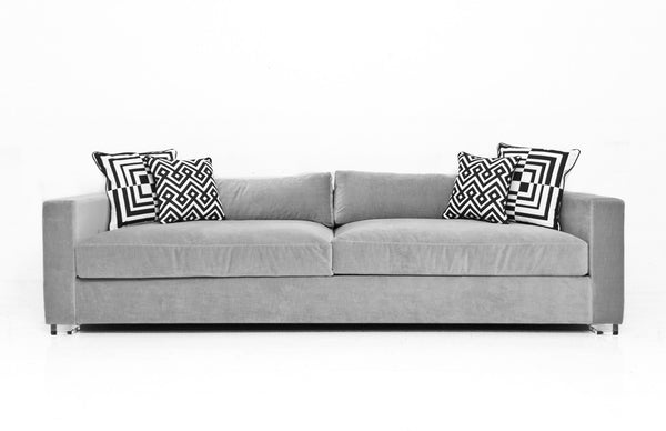 Shoreclub Sofa in Como Sharkskin - ModShop1.com