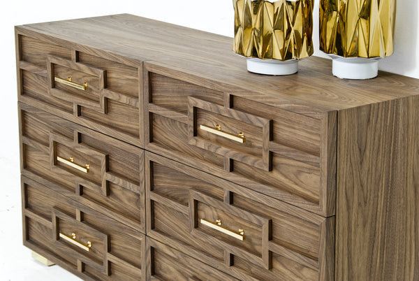 St. Tropez Dresser in Walnut