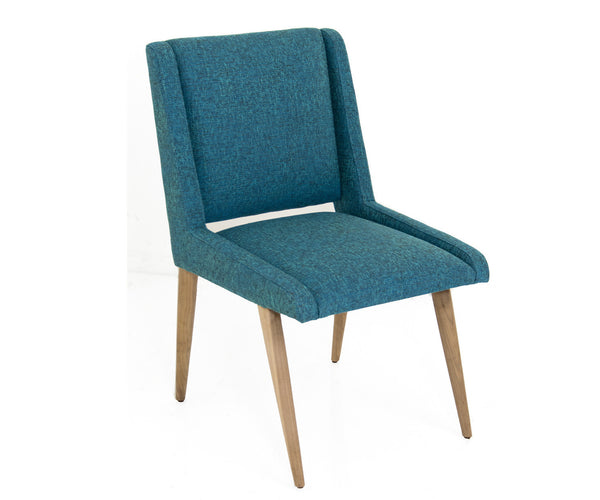 Mid Century Dining Chair in Notion Hypnotic Linen