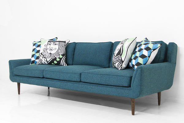 Stockholm Sofa in Notion Hypnotic Linen - ModShop1.com