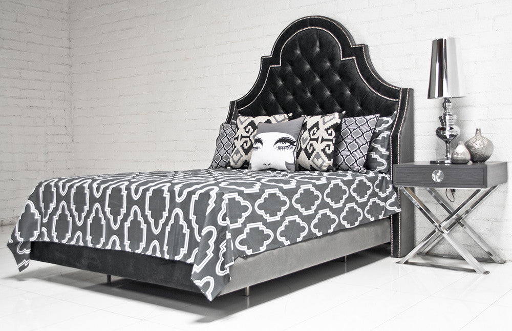 Perfect Bel Air Bed In Charcoal