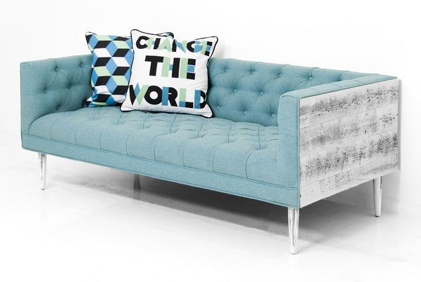 Cody Loveseat in Notion Thunderbird Linen - ModShop1.com