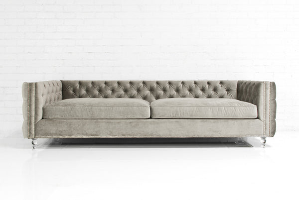 Inside Out New Deep Sofa in Brussels Metal Velvet