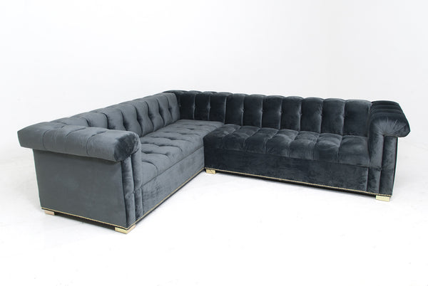 Dean Martin Sectional in Mystere Cosmic