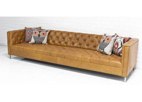Hollywood Leather Sofa - ModShop1.com