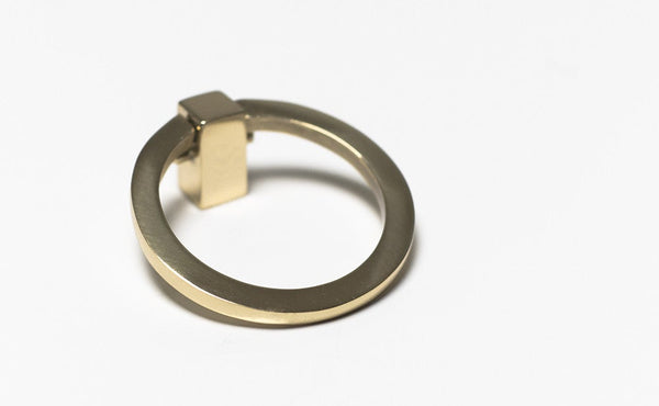 Brass Ring Hardware, Small (Set of 2) - ModShop1.com