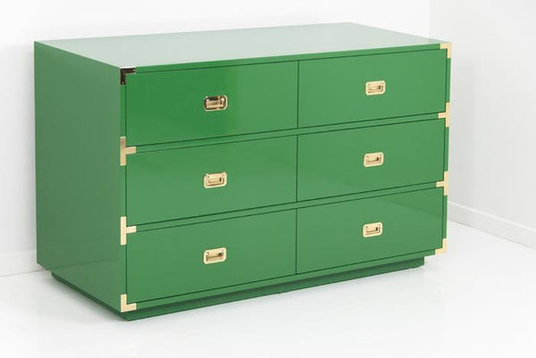 Jet Setter Dresser in Kelly Green