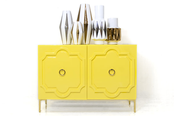 Marrakesh Tall Boy 2 Door Credenza