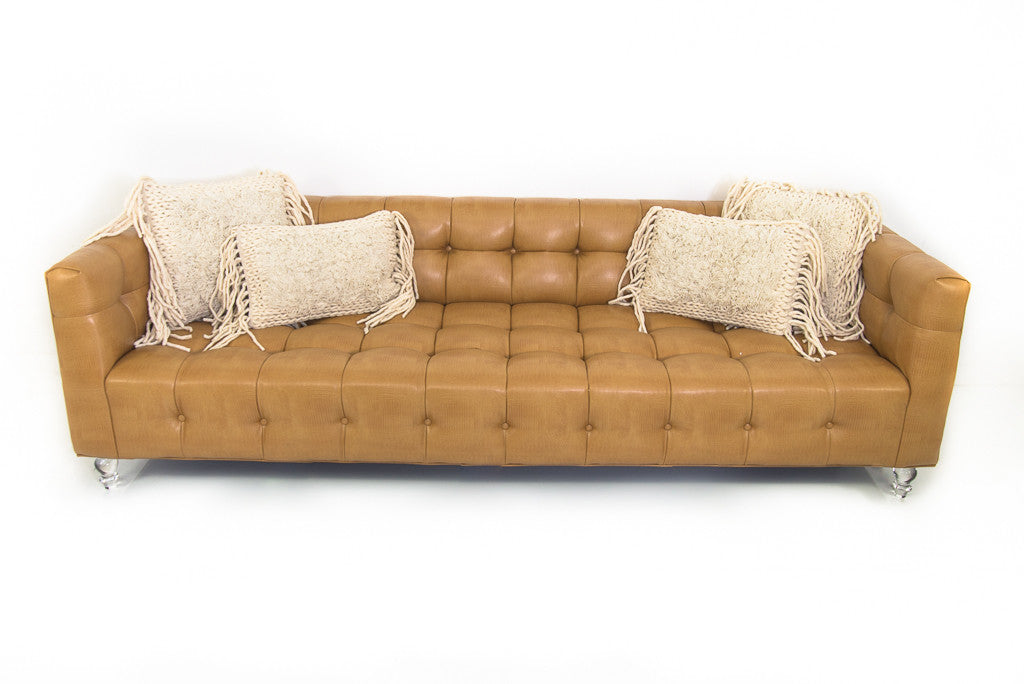 Delano Sofa In Lizardo Fawn Faux Leather Part 94
