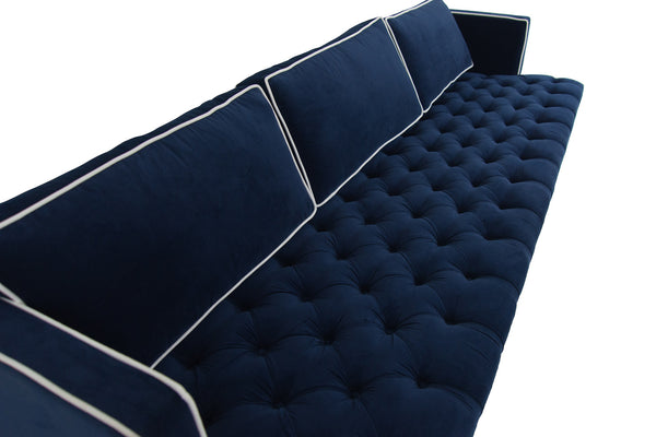 Down With Love Sofa in Regal Velvet