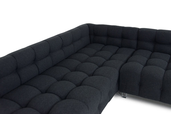 Delano Sectional in Notion Ebony
