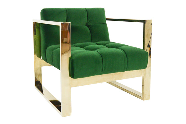 Kube Chair in Emerald