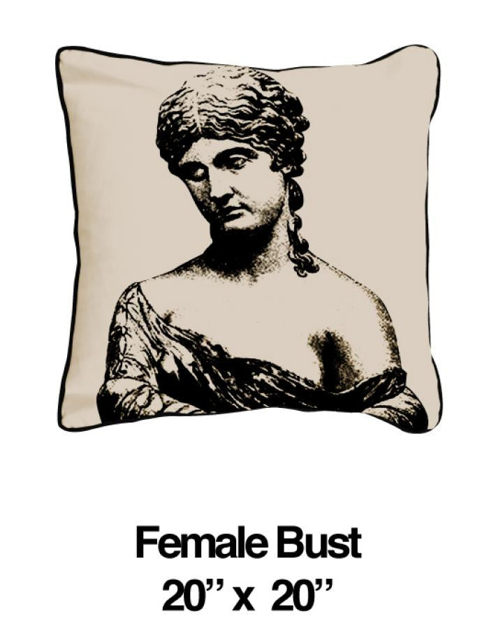 Female Bust Black Oatmeal - ModShop1.com
