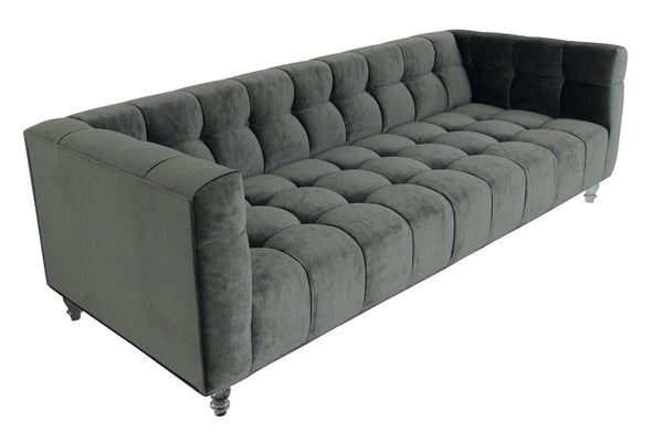 side view of delano sofa