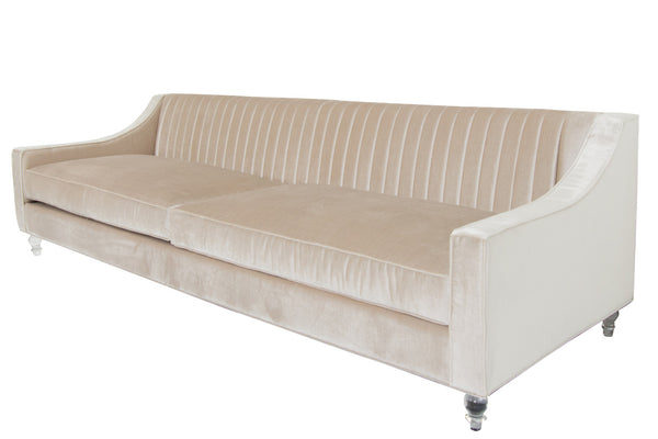 Audrey Sofa with Long Arm Tufting