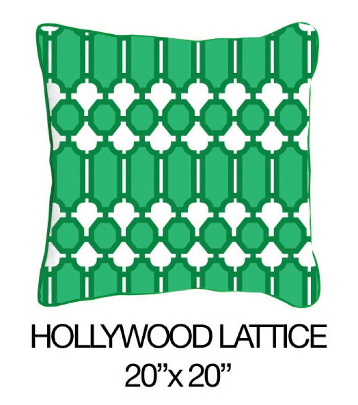 Hollywood Lattice Green - ModShop1.com