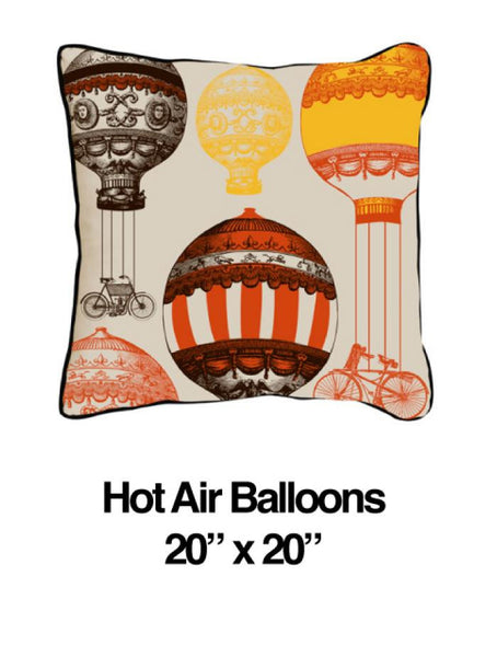 Hot Air Balloon Orange Oatmeal
