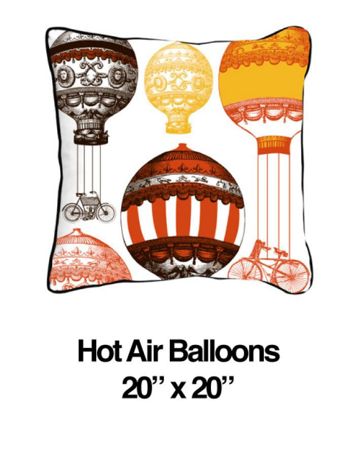 Hot Air Balloon Orange - ModShop1.com
