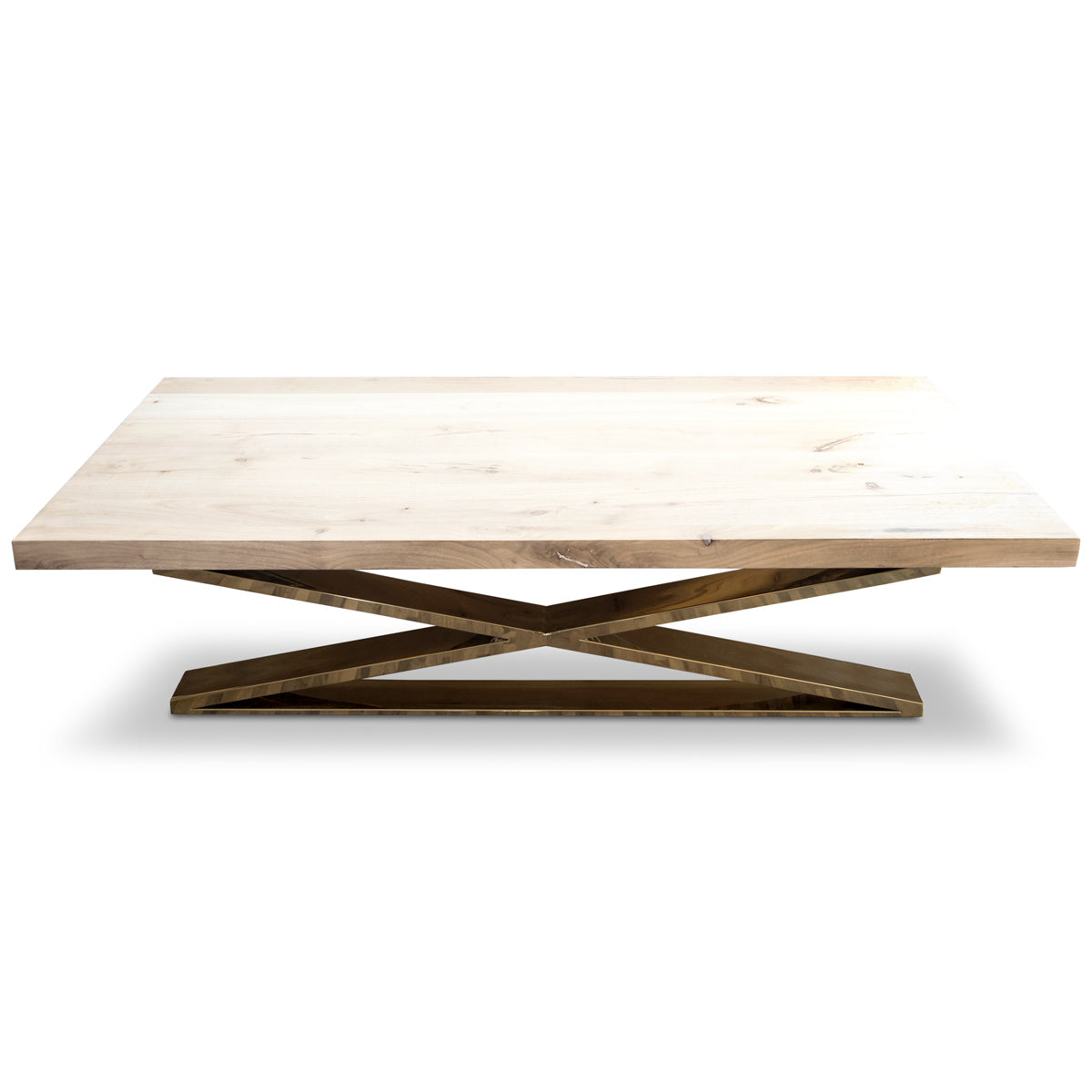 XLeg Coffee Table Modern Coffee Table With Wood Top ModShop - Coffee table no legs