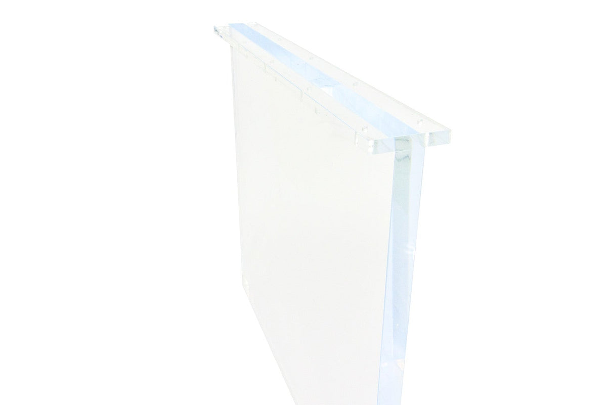 Lucite Plinth Dining Table Legs - ModShop1.com