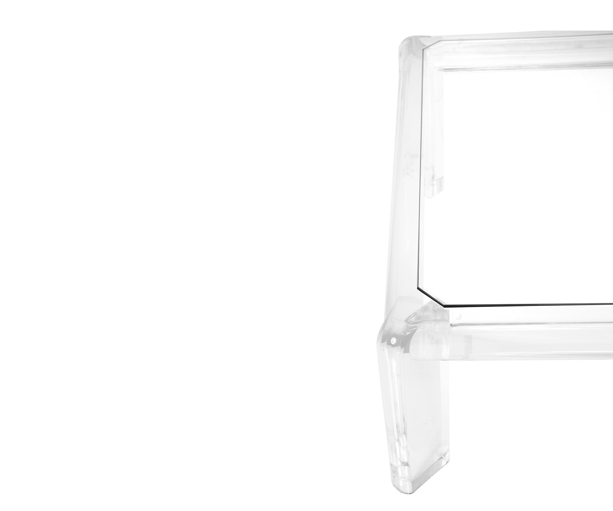 60u0027s Lucite Coffee Table