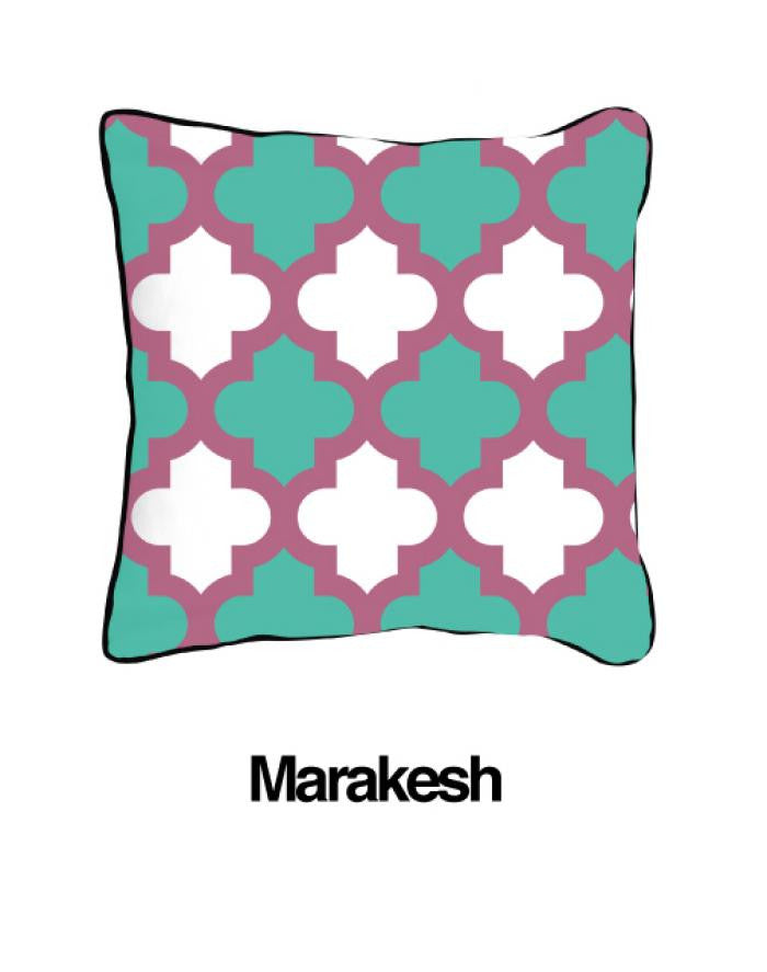 Marrakesh Pillow Two Tone Lavender - ModShop1.com