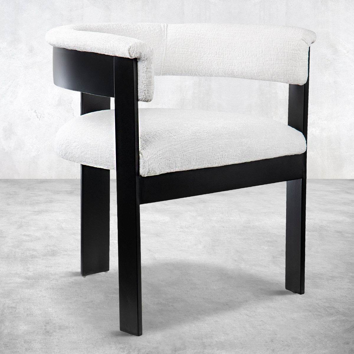 Marseille Dining Chair in Velour