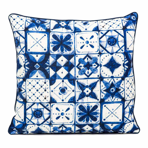 Moroccan Tiles Pattern Pillow - ModShop1.com
